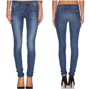 Joe's mid rise skinny jeans Claudine 26